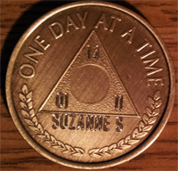 Al-Anon Medallions One Day At A Time