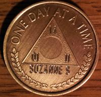 Al-Anon Medallions Engraved | Alanon Medallions Engraved