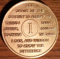 Engraving Alanon Medallions