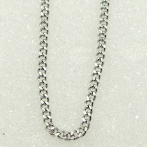 Curb Necklace Chain – Curb Chain | Stainless Steel Curb Chains