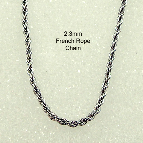 1625bd4fe54 French Rope Necklace Chains | Replacement French Rope Chains