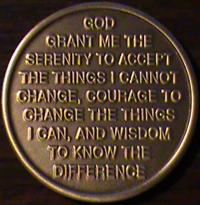 Day At A Time, Day At A Time medallion, 1 Day At A Time, 1 Day At A Time medallion, one Day At A Time, one Day At A Time medallion,