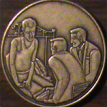 Three Men on the Bed