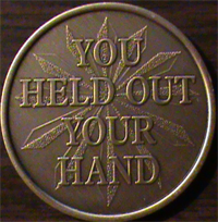 You Held Out Your Hand,You Held Out Your Hand medallion, You Held Out Your Hand medallions,