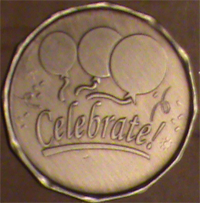 Celebrate Recovery Medallion