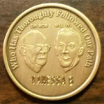 Founders Medallion Engraved