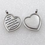 When Someone You Love Becomes A Memory That Memory Becomes A Treasure Pendant