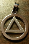 AA Necklace | AA Symbol Necklace | AA Symbol