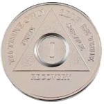 Silver Plated AA Medallion | Silver Plated AA Medallions