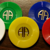 Plastic AA Chips