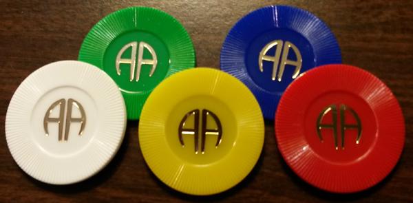 Plastic AA Chips