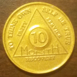 10 Month Aluminum AA Chip