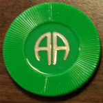9 Month Green AA Chip