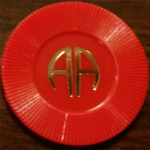 3 Month Red AA Chip